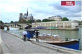 The Floating Kitchen in Paris by Notre Dame
